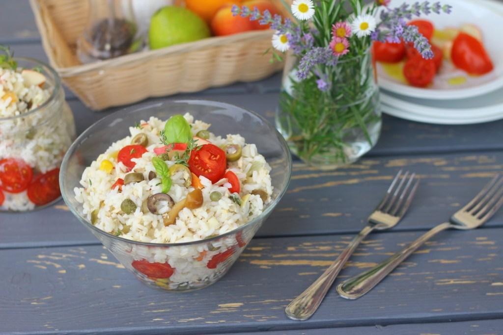 riso freddo Italian Rice Salad