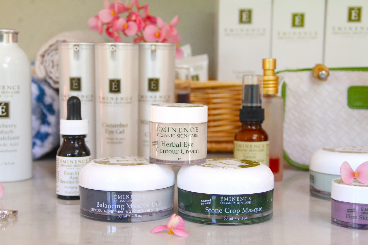 NaturalEvening Skin Care Routine with Eminence