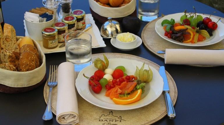 """Gluten Free Gourmet at """"La Taverna"""", Castello Banfi, Tuscany"""