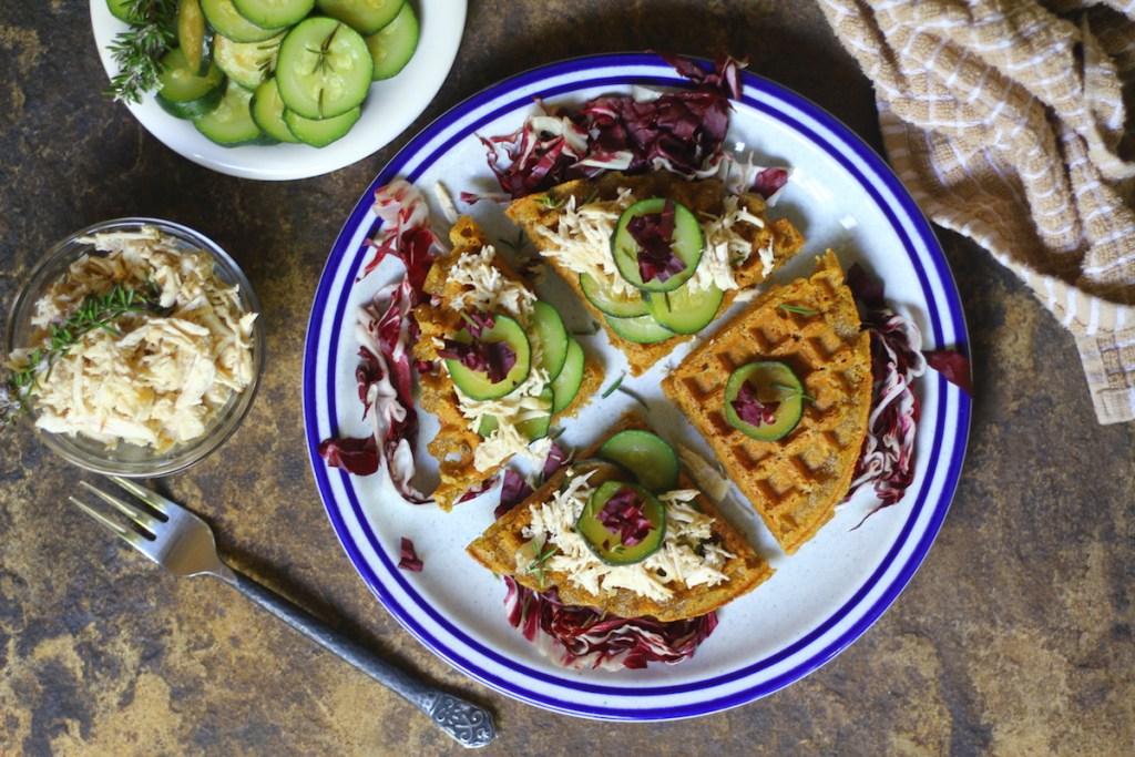 Savory Paleo & AIP Plantain Waffles