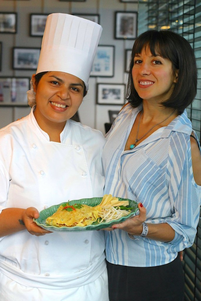 Recipe Development with the with the Chef of Erawan Tea Room, Bangkok