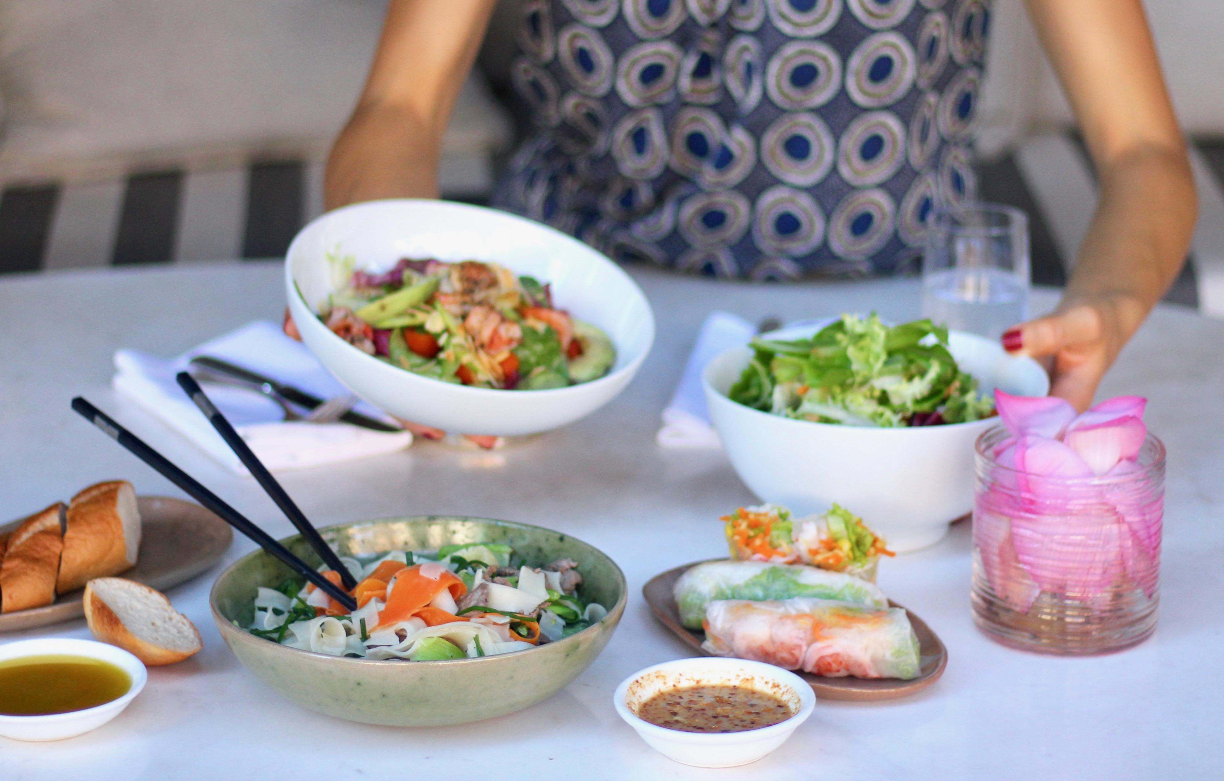 Green Mango Salad from the Chef at Park Hyatt Siem Reap