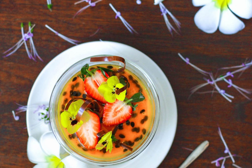 Dairy Free Passion Fruit Panna Cotta 2