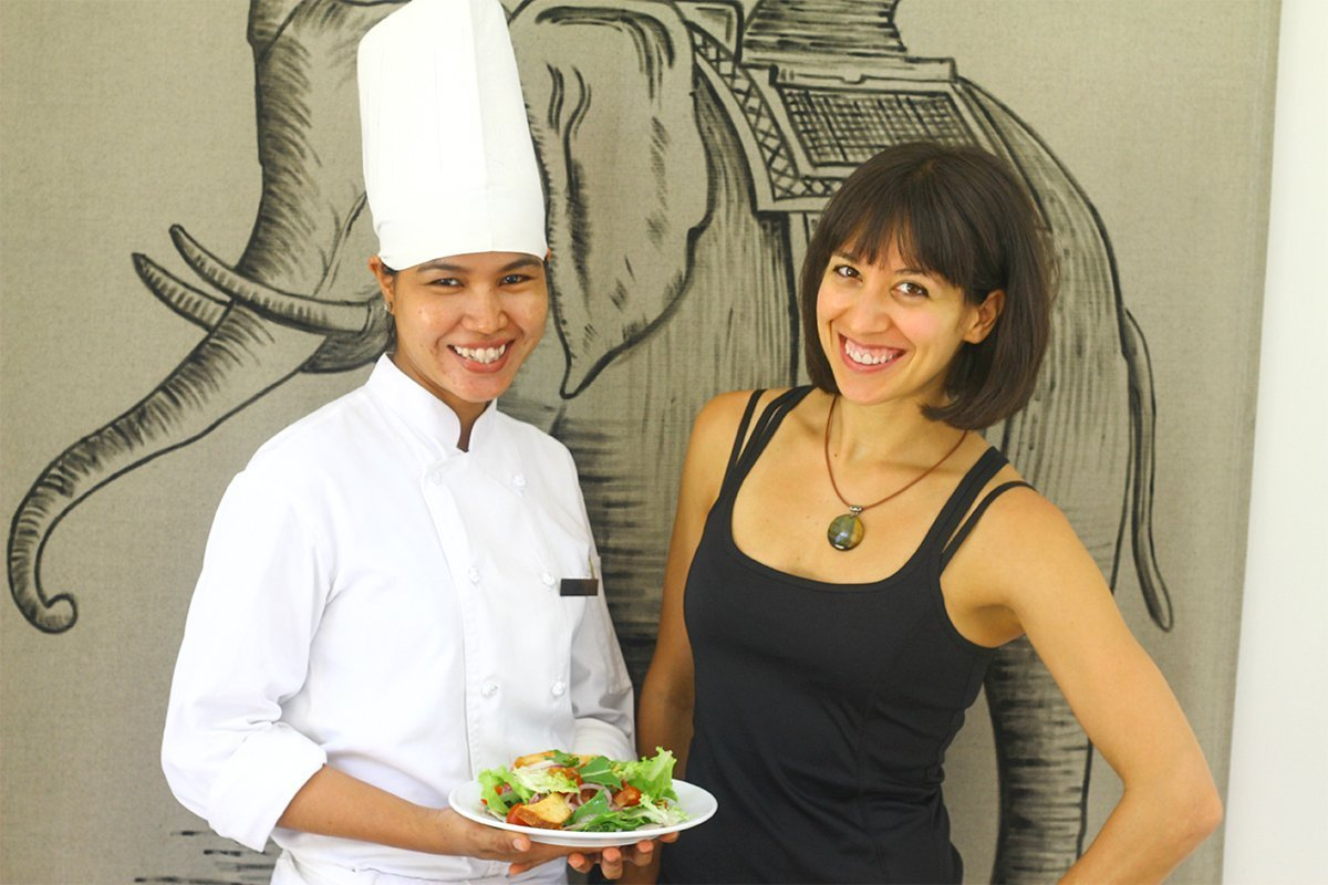 Special Diet Consulting with the with the Chef of Park Hyatt Siem Reap