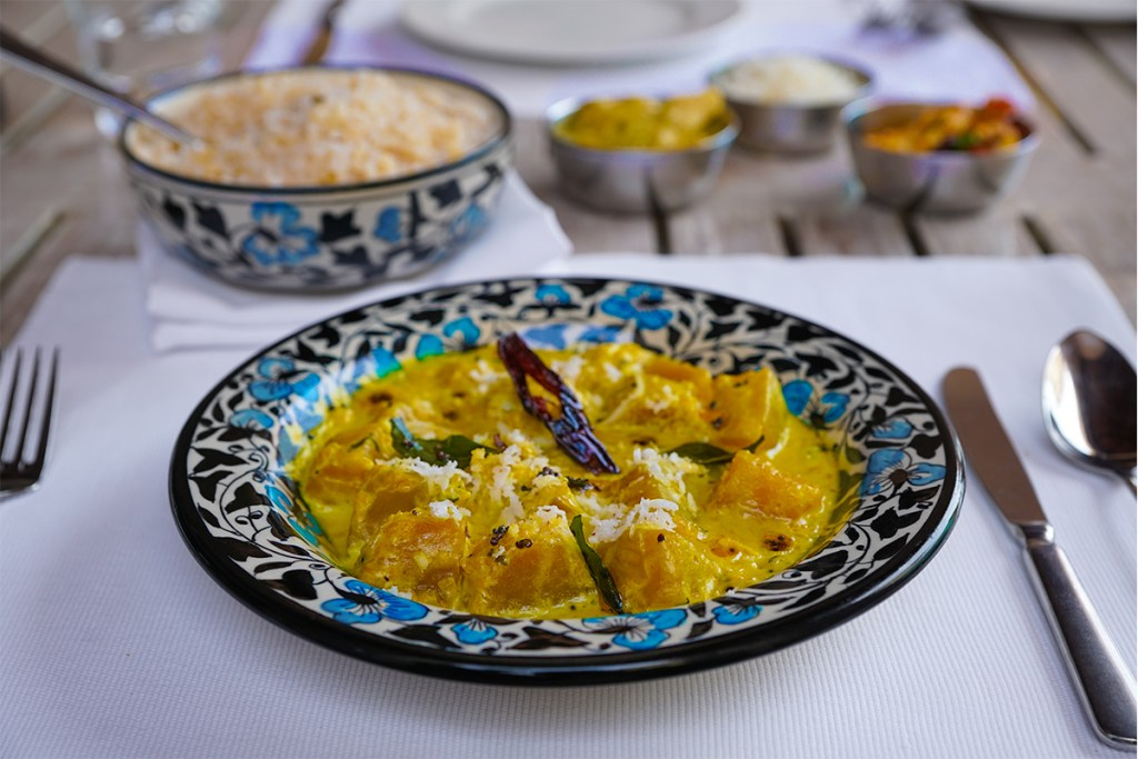 Indian Style Pumpkin Curry
