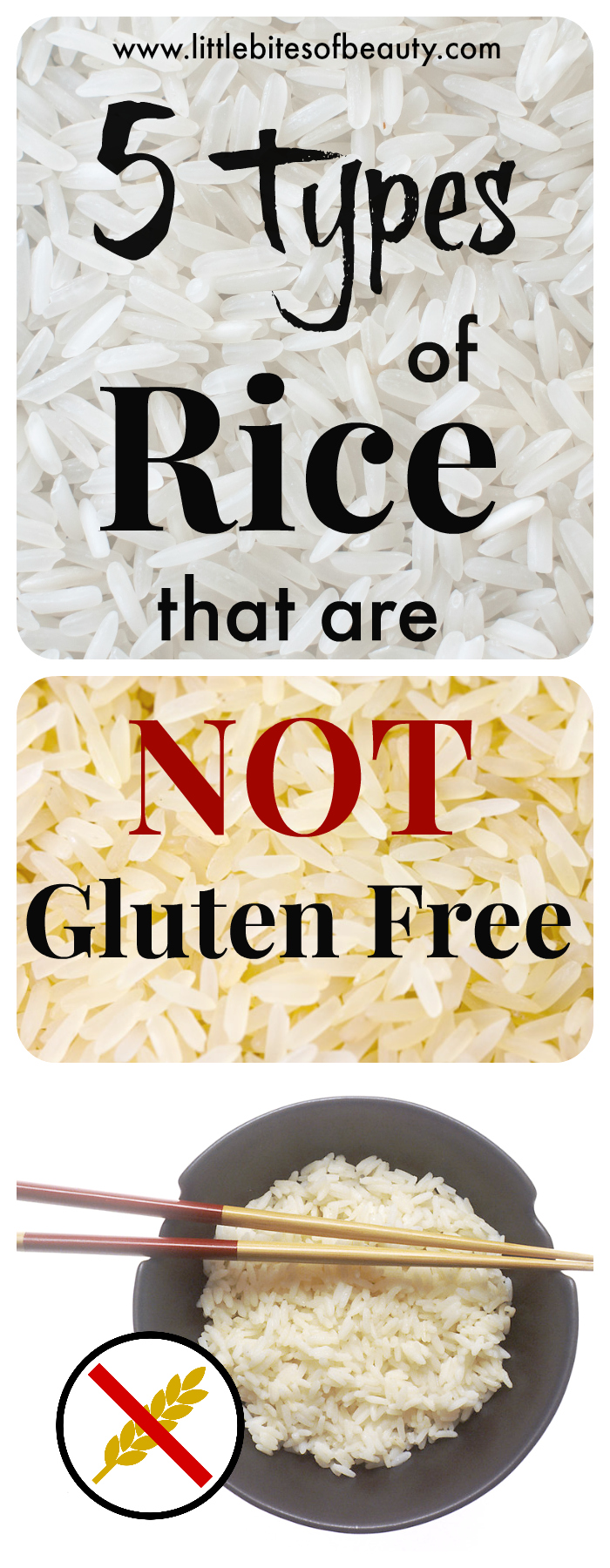 5 Types of Rice That Are NOT Gluten Free - Little Bites of