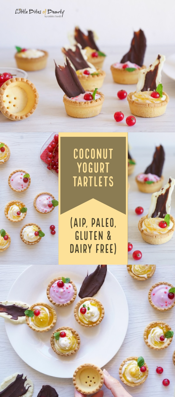Coconut Yogurt Tartlets (Gluten & Dairy Free, Paleo, AIP)