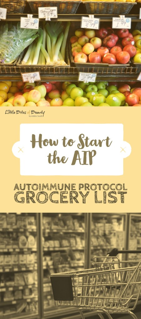 How to Start the Autoimmune Protocol. AIP Diet Grocery List