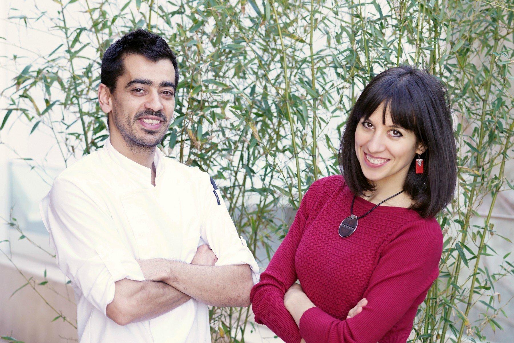 Ambra Torelli & Chef Miguel Pereira at Memmo Principe Real, Lisbon