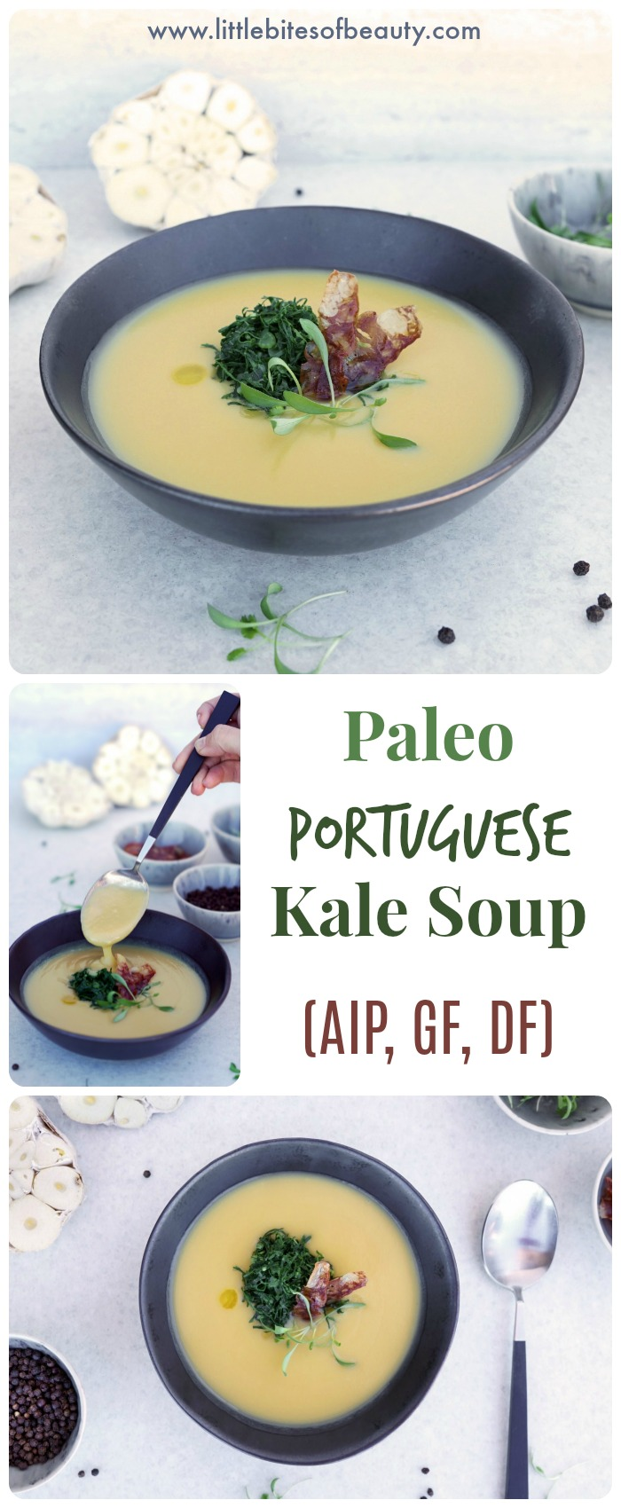 Paleo Portuguese Kale Soup (AIP, Dairy & Gluten Free)