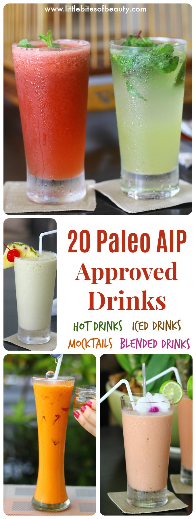 20 Paleo AIP Compliant Drinks