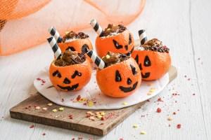 Paleo Halloween Mandarin Cups (Dairy & Gluten Free, AIP)