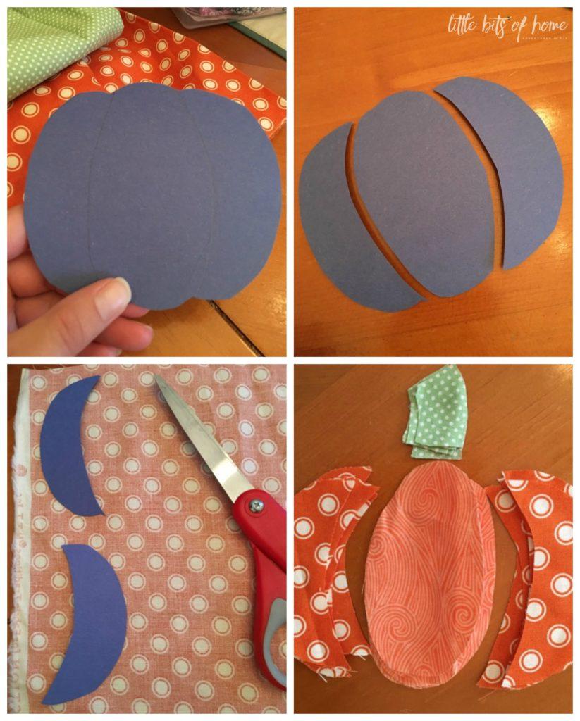 Kết quả hình ảnh cho Cutting Pumpkin Pattern Pieces sewing