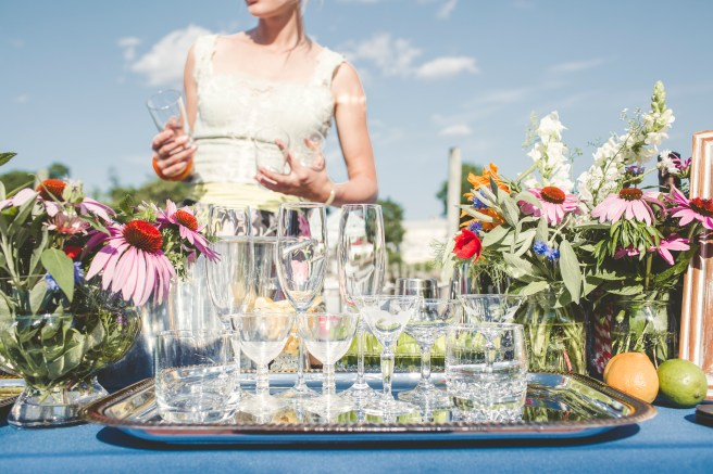 Our growning collection of vintage crystal glassware