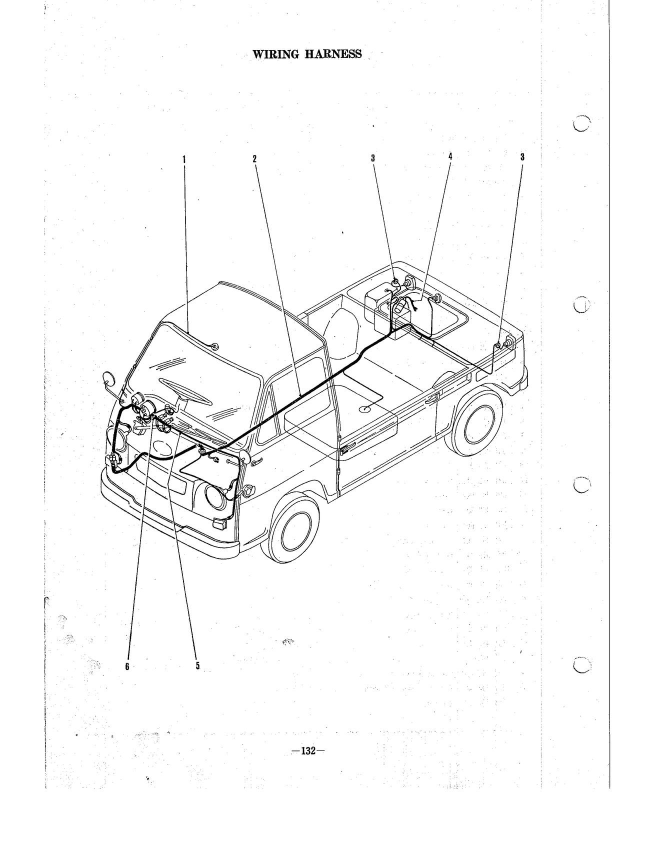 hight resolution of subaru 360 sambar parts 132 littlecartrader little car trader subaru forester wiring diagram subaru 360 wiring diagram