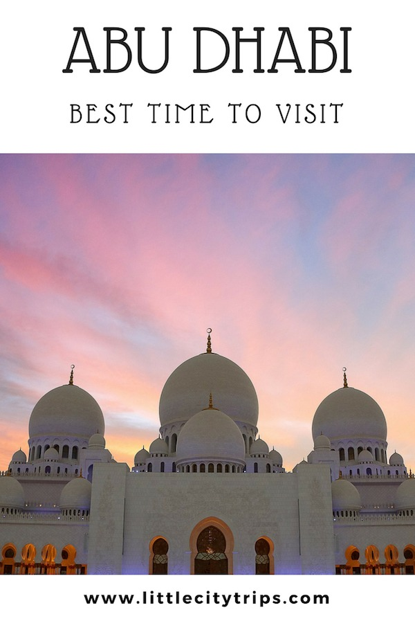 If you are wondering about the best time to visit Abu Dhabi, don't miss our insider's guide with what to expect in each season