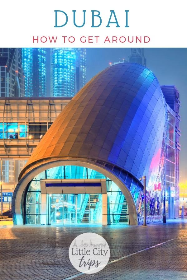 Practical guide to getting around Dubai with kids #dubai #travel #familytravel