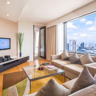 Emporium Suites Chatrium Bangkok family self-catering accommodation