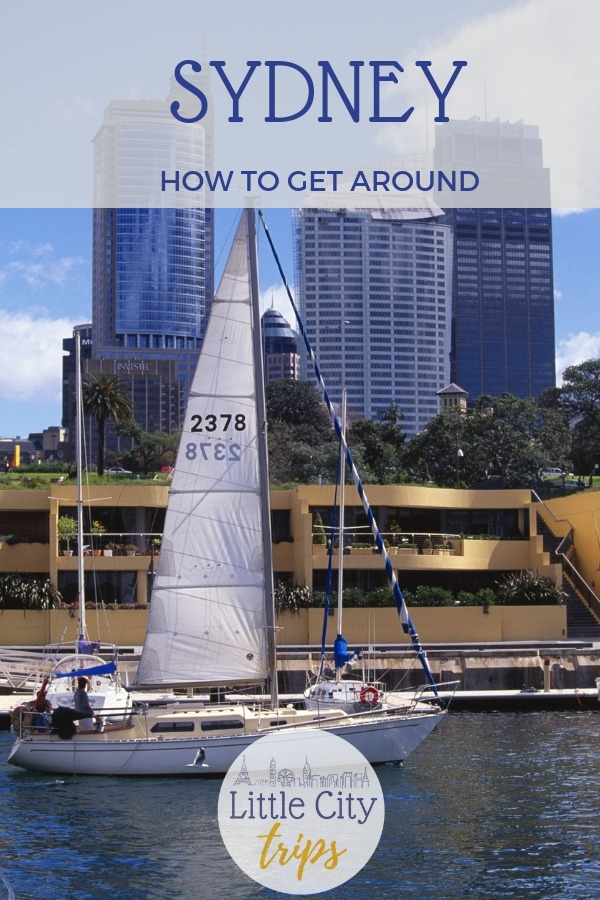 Guide to Sydney's public transport system and how to get around Sydney with kids
