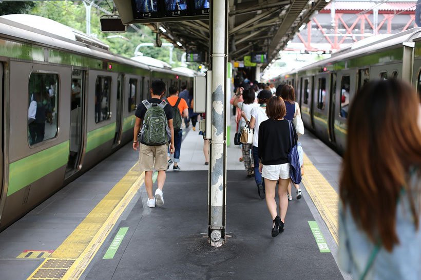 Getting around Tokyo by subway