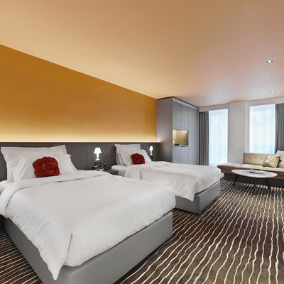 Butterfly on Prat Hong Kong family hotel room