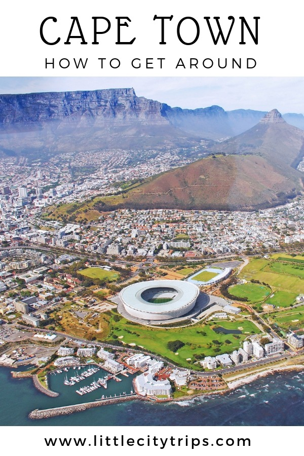 Practical guide to the best way to get around Cape Town with kids in tow.