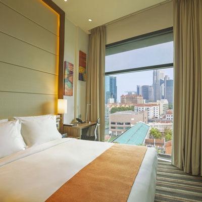 Holiday Inn Express Singapore family accommodation