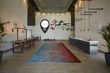 Rove Hotel Downtown great place for families to stay near Dubai Mall | Little City Trips - city travel experts