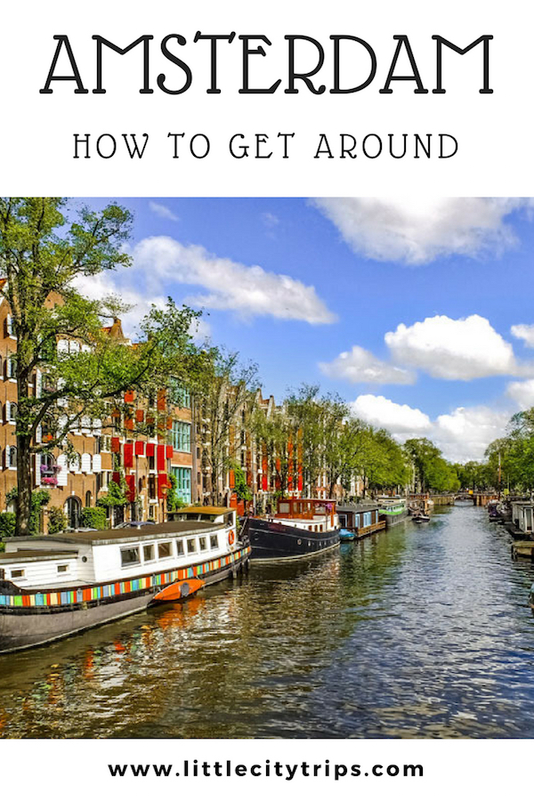 Our insider guide to how to get around Amsterdam and use the city's public transport system with kids in tow