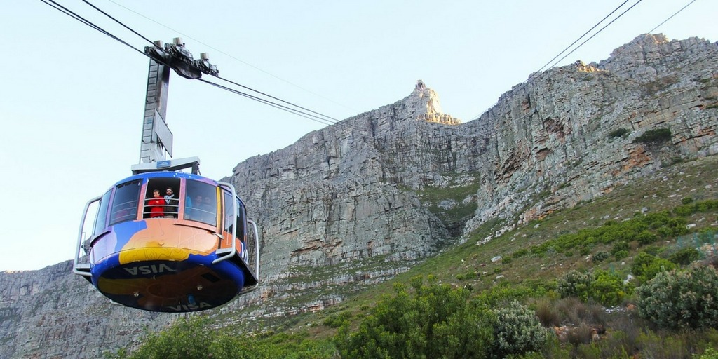Cape Town CableCar to Table Mountain - Caution of high winds visiting Cape Town in the summer | Best Time to Visit Cape Town Little City Trips