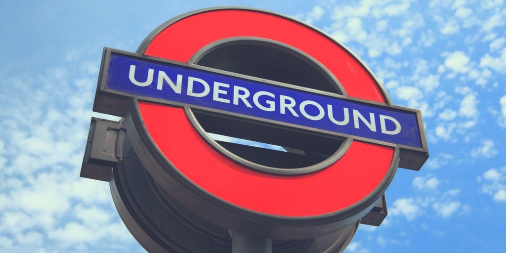 London Underground sign | How to get around London with Kids | London City Guide by Little City Trips