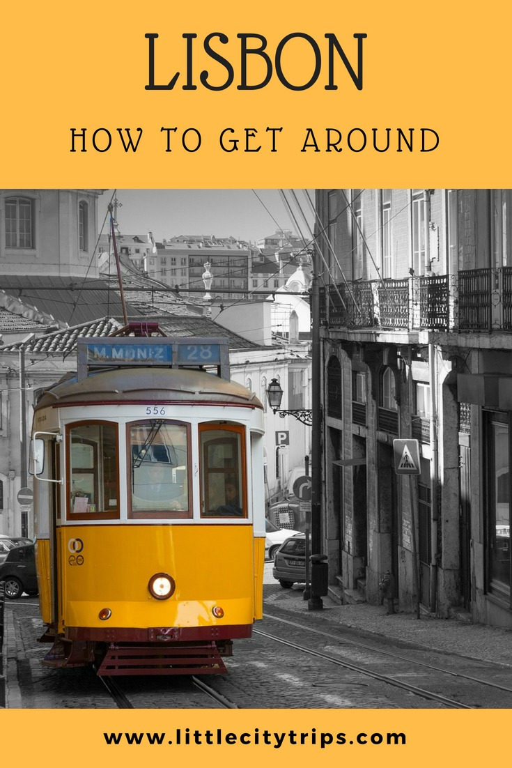 Our guide to the best way to move in Lisbon