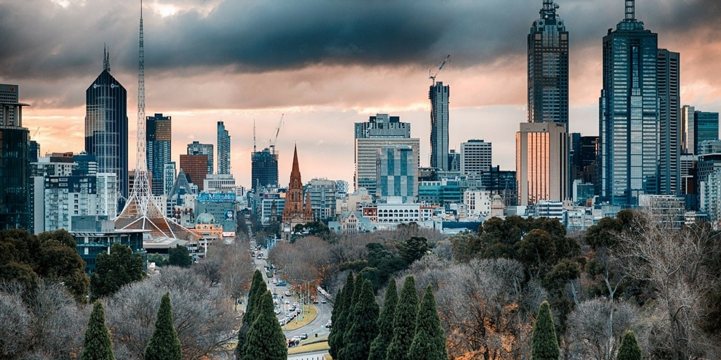 Stormy Melbourne Skyline   Little City Trips guide to the best time to visit Melbourne