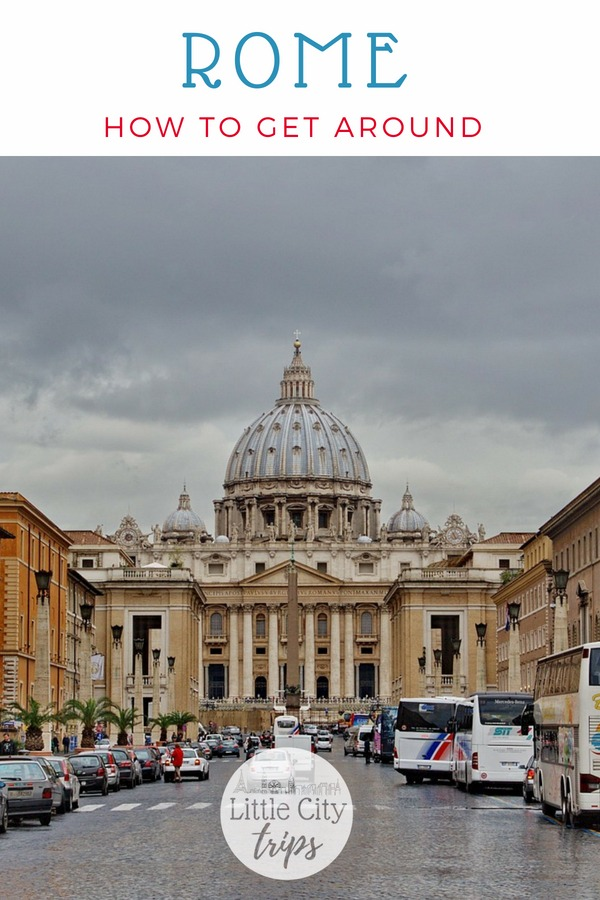 Our practical guide on the best way to get around Rome as a family