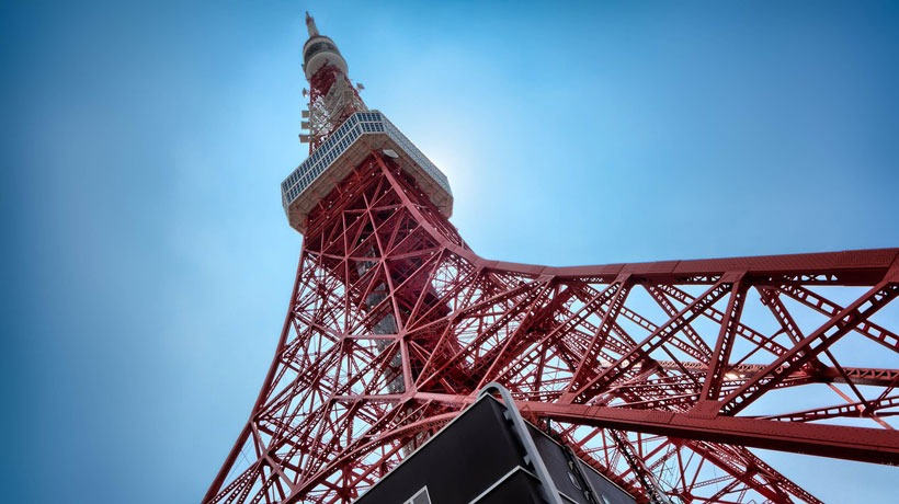 Tokyo Tower with kids