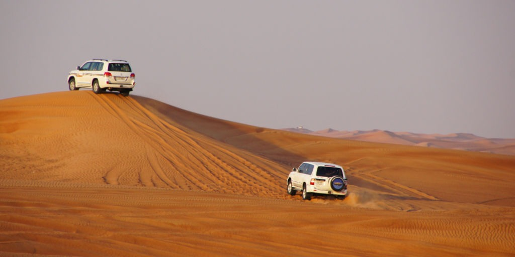 Dubai Desert safari 4WD in the Desert | Things to do in Dubai as a family