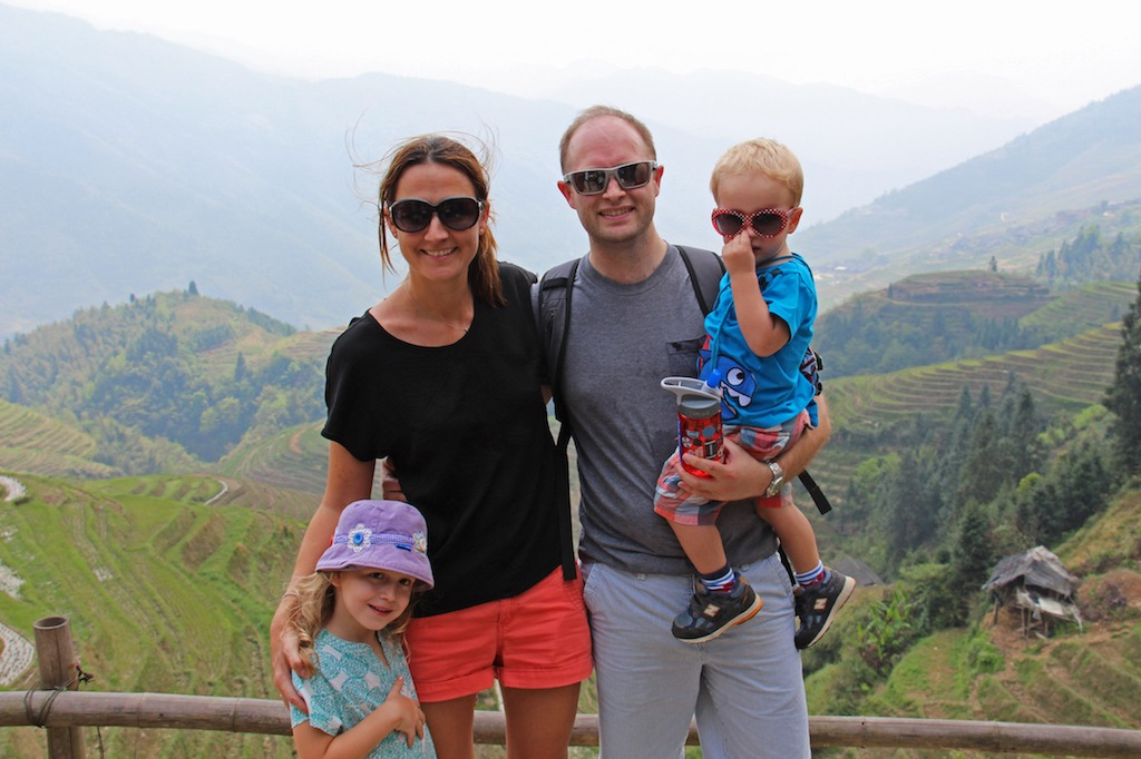 Rogerson family in China