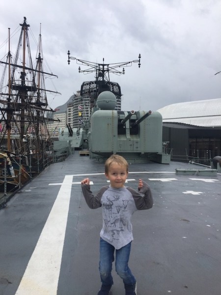 Maritime museum Sydney with kids