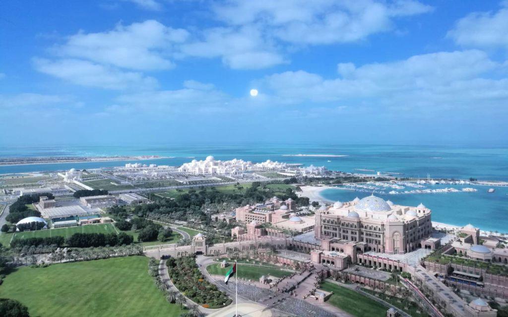 Qasr al Watan - view from Etihad Towers