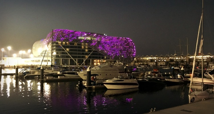 Yas Hotel on Yas Island Abu Dhabi