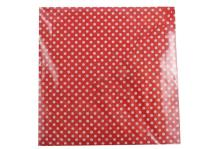 Red Polka Dot Napkins | Little Cookies NZ