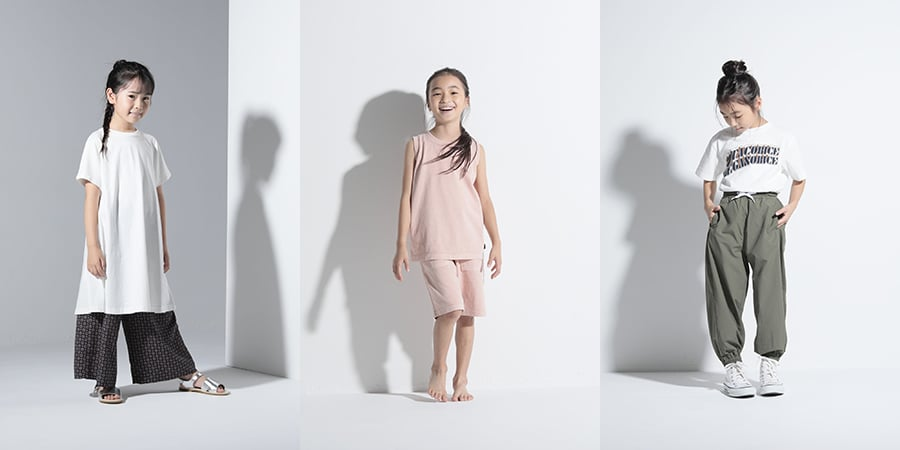 Arch & Line Spring/Summer 2021 collection for girls