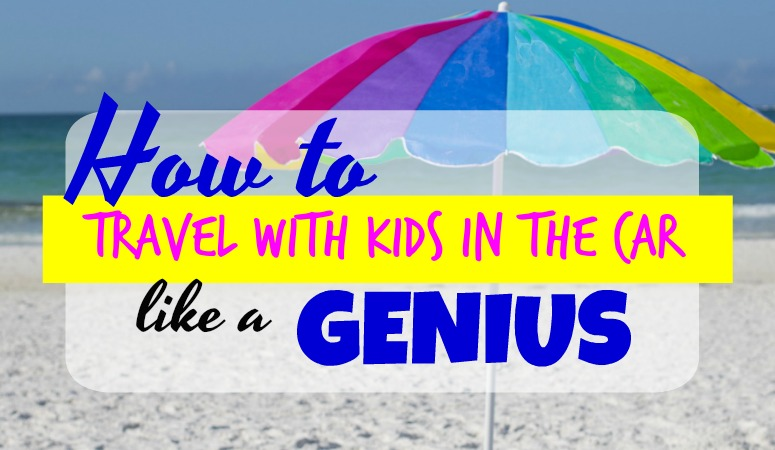 How to Travel with Kids in the Car Like a GENIUS!
