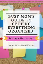 Tired of feeling overwhelmed and stressed all the time by your to-do list? Read this to help you get your life organized again, even when you are busy!
