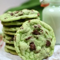 Mint Chip Sugar Cookies