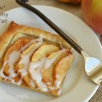 Simple Puff Pastry Apple Tart