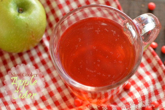 Warm up from the top of your head to the tip of our toes with Slow Cooker Apple Cider! Little Dairy on the Prairie