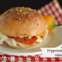 Make Ahead Pepperoni Pizza Sliders