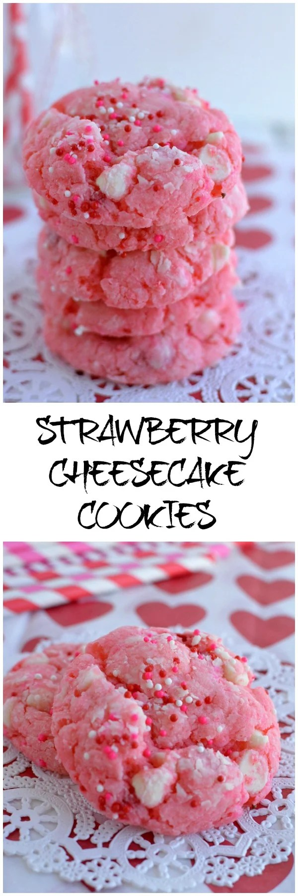 Strawberry Cheesecake Cookies Easy Little Dairy On The Prairie