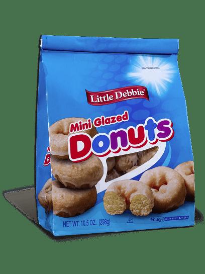 Mini Donuts Glazed Little Debbie